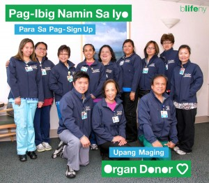 We Love You, #WLY, organ donation, bLifeNY, Dr. Chris Barry, Ronny Edry, Peace Factory, UCSD, Philippines