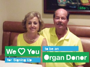 Carol Kirkham Topi, We Love You, bLifeNY, WLY, organ donation, lung transplant, Ronny Edry, Dr. Chris Barry
