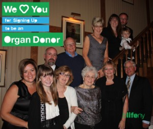 We Love You, #WeLoveYou, bLifeNY, organ donor, Chris Barry, WLY