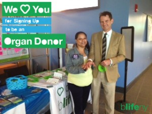 We Love You, #WLY, organ donation, kidney transplant, bLifeNY, Dr. Chris Barry, Ronny Edry, Peace Factory, Finger Lakes Community College, Peru, recycle yourself