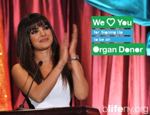 Priyanka Chopra, we love you, Bollywood, India, Exotic, In My City, Disney's Planes, bLifeNY, organ donation, #WLY, Dr. Chris Barry, Ronny Edry, Peace Factory, organ donation registration