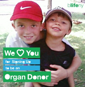 We Love You, #WLY, organ donation, bLifeNY, Dr. Chris Barry, Ronny Edry, Peace Factory, youth