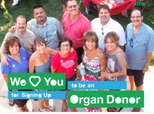 We Love You, #WLY, organ donation, bLifeNY, Dr. Chris Barry, Ronny Edry, Peace Factory, living donor transplant