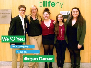 bLifeNY, we love you, bLifeUR, organ donation, University of Rochester, Dr. Chris Barry, Ronny Edry, transplantation, #WLY, We love you for signing up to be an organ donor