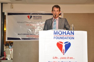 Dr. Chris Barry, MOHAN Foundation, Dr. Sunil Shroff, organ donation, deceased donor transplantation, transplant tourism, organ trade, kidney rackets, THOA, NNOS, Tamil Nadu, India, kidney transplant