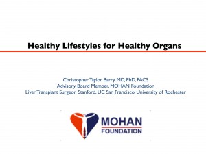 healthy lifestyles for healthy organs, Dr Chris Barry, Madurai Rotary Club, organ donation, transplantation, MOHAN Foundation, Dr Sunil Shroff, deceased donor transplant in India, bLifeNY, #drbarryindia